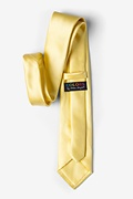 Pale Lemon Extra Long Tie