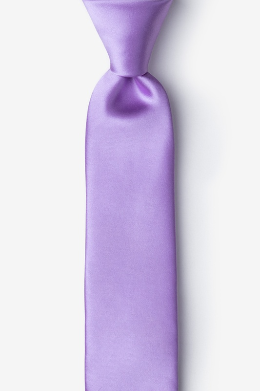 Passion Purple Skinny Tie