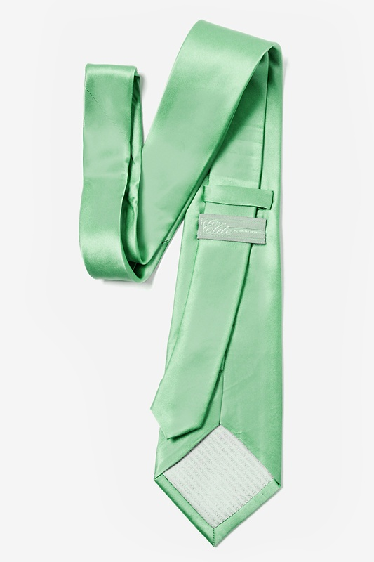 Peapod Green Extra Long Tie Photo (1)