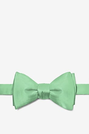 _Peapod Green Self-Tie Bow Tie_