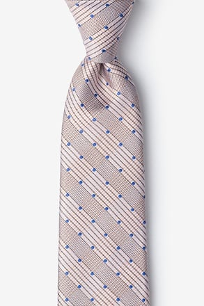 Sicily Periwinkle Extra Long Tie