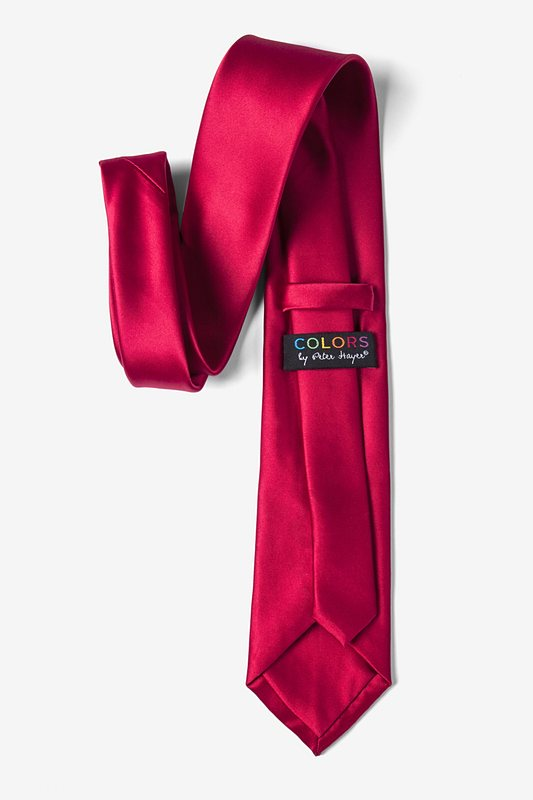 Persian Red Extra Long Tie