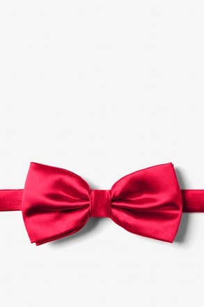 _Persian Red Pre-Tied Bow Tie_