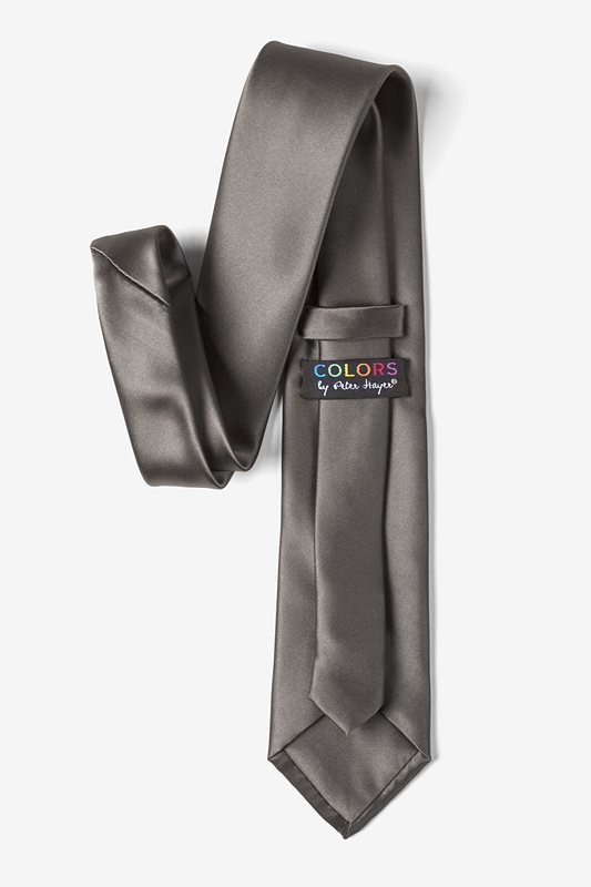 Pewter Extra Long Tie Photo (2)