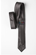 Pewter Skinny Tie Photo (2)