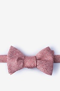 Pink Cotton Beau Bow Tie