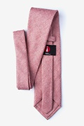 Beau Pink Extra Long Tie Photo (1)