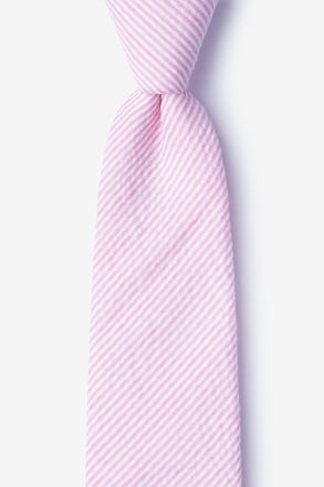 Cheviot Pink Extra Long Tie