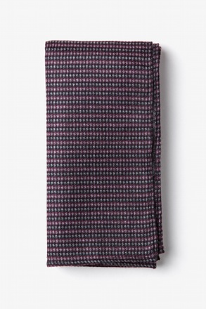Gilbert Pink Pocket Square