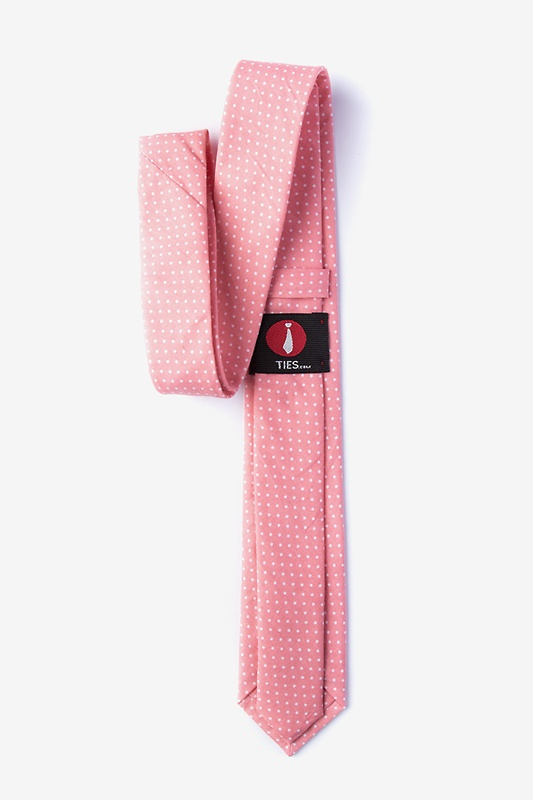 Gregory Pink Skinny Tie Photo (1)