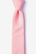 Gregory Pink Skinny Tie Photo (0)
