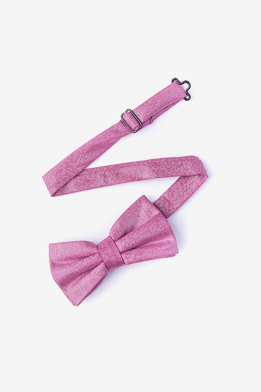 Hurricane Pink Pre-Tied Bow Tie Photo (1)