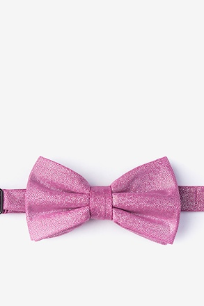 _Hurricane Pink Pre-Tied Bow Tie_