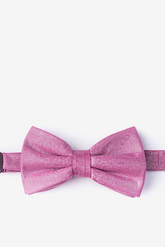 Hurricane Pink Pre-Tied Bow Tie Photo (0)