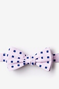 Pink Cotton Jamaica Bow Tie