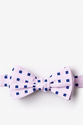 _Jamaica Pink Self-Tie Bow Tie_