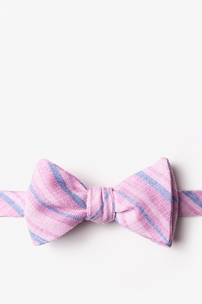 _Katy Pink Self-Tie Bow Tie_