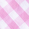 Pink Cotton Pasco Diamond Tip Bow Tie