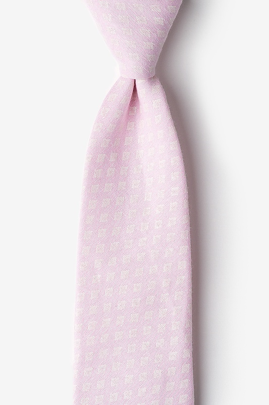 Poway Pink Extra Long Tie Photo (0)