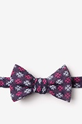 Pink Cotton Roseburg Self-Tie Bow Tie