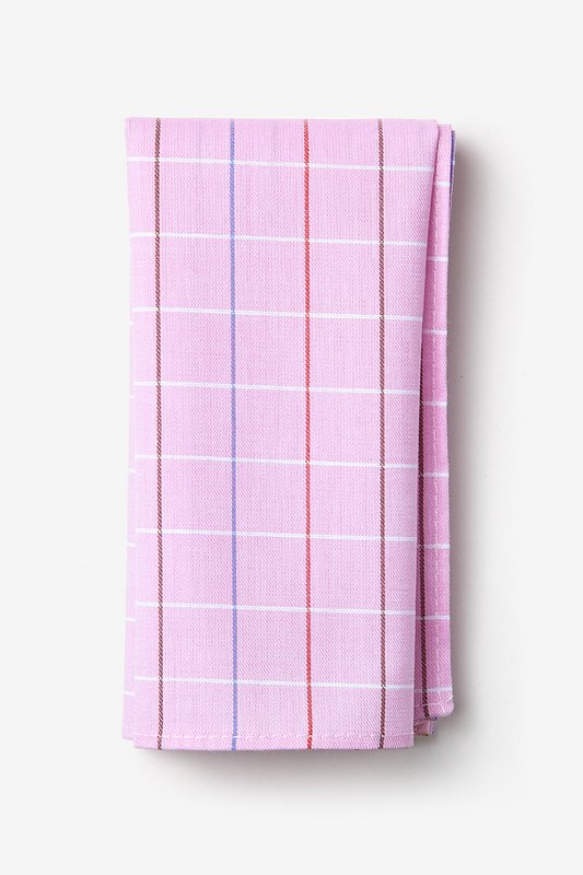 Seattle Pink Pocket Square Photo (0)