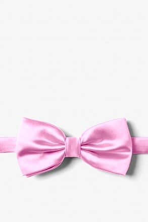 Pink Frosting Pre-Tied Bow Tie