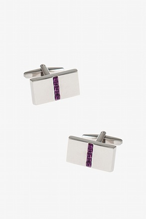 Bejeweled Plate Cufflinks