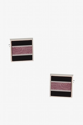 Solid Patterned Square Cufflinks