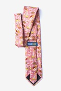 Fast Food Floral Extra Long Tie