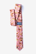 Fast Food Floral Skinny Tie Photo (1)