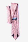 Flying Arrows Pink Extra Long Tie Photo (1)