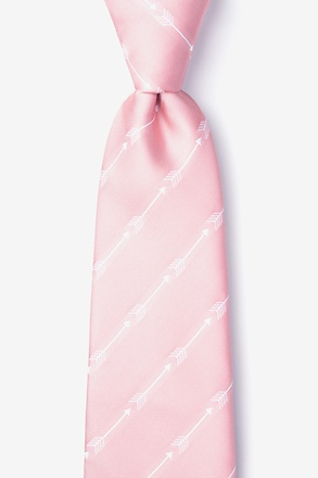 _Flying Arrows Pink Tie_