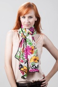Floral Bouquet Scarf by Scarves.com