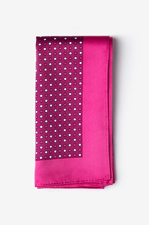 Sammy Pink Pocket Square