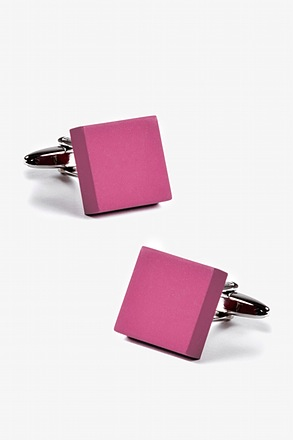 Matte Square Solid Cufflinks