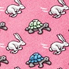 Pink Silk Bad Hare Day Tie