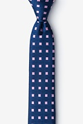 Bermuda Pink Skinny Tie Photo (0)