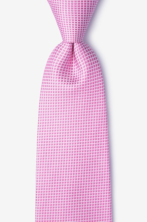 _Buck Pink Extra Long Tie_