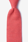 Classic Solid Knit Tie Photo (0)