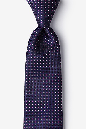Clavering Pink Extra Long Tie