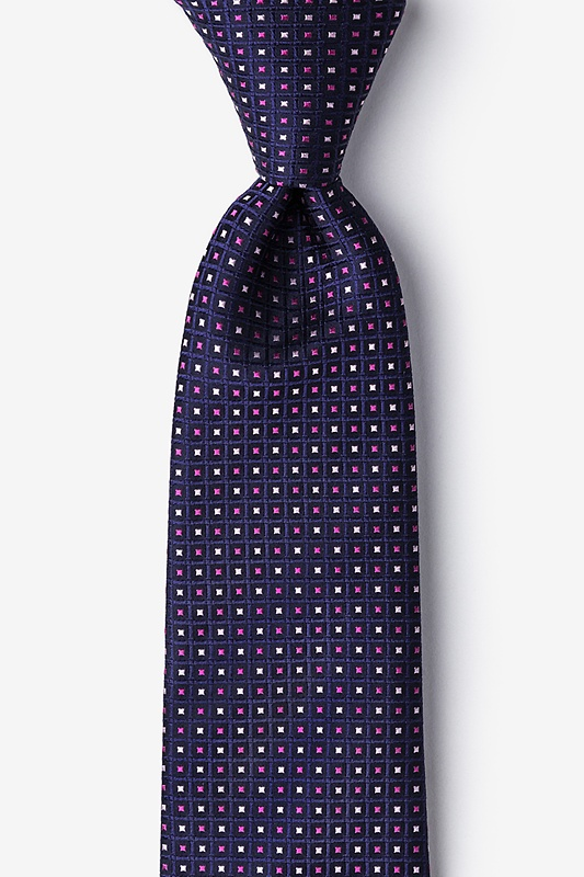 Clavering Pink Extra Long Tie Photo (0)