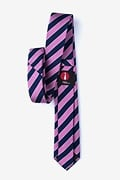 Fane Pink Skinny Tie Photo (1)