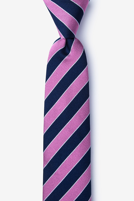 Fane Pink Skinny Tie Photo (0)