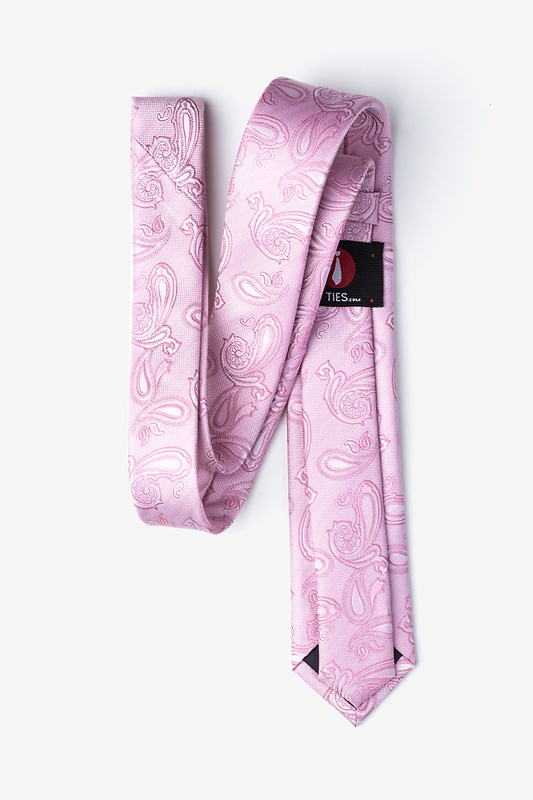 Gable Pink Skinny Tie Photo (1)