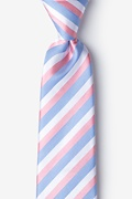 Pink Silk Great Abaco Tie