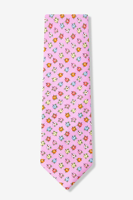 Hibiscus Highlights Tie by Alynn Novelty