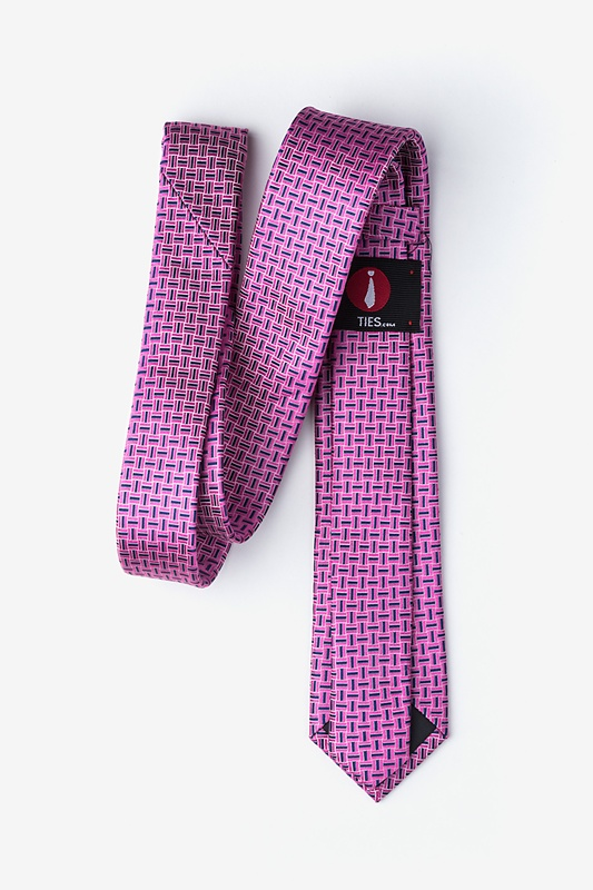 Majorca Pink Skinny Tie Photo (1)