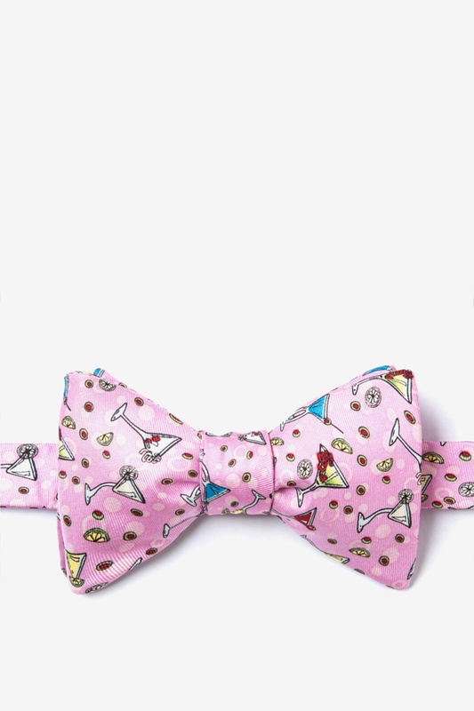 Martini Party Self Tie Bow Tie by Alynn Bow Ties