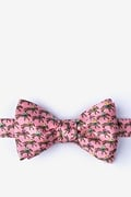 One Horse Race Self-Tie Bow Tie
