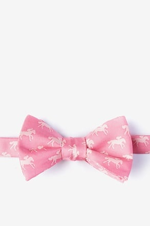 _Photo Finish Pink Self-Tie Bow Tie_